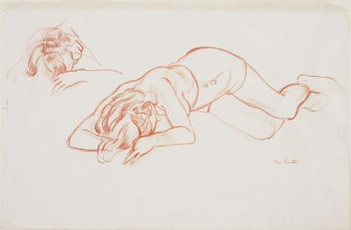 An image of Nude Drawing by Thea Proctor