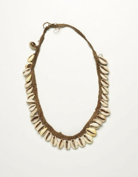 An image of Cowrie shell necklace by