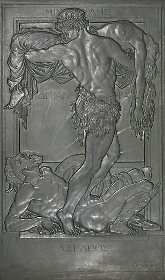 An image of Hercules, Achelous, Deianeira by Rayner Hoff