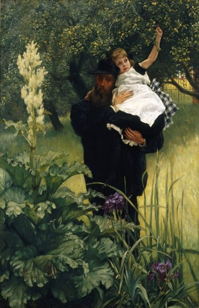 An image of The Widower by James Tissot