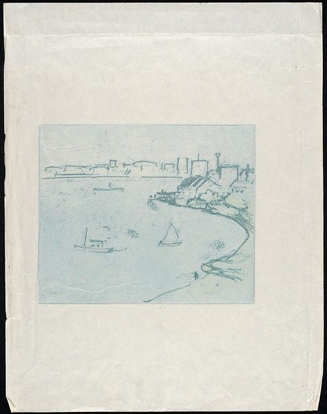 An image of Greenwich Point by Lloyd Rees