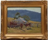 Alternate image of Milking time (Araluen Valley) by Elioth Gruner