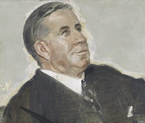 An image of W.S. Robinson Esq. by Sir William Nicholson