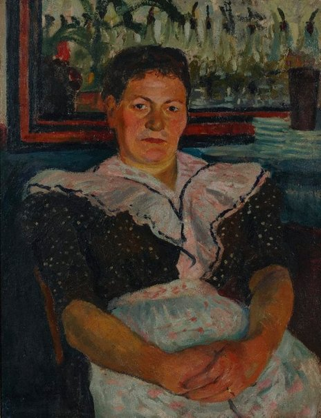 An image of The inn-keeper of Marnes-La-Coquette by Charles Camoin