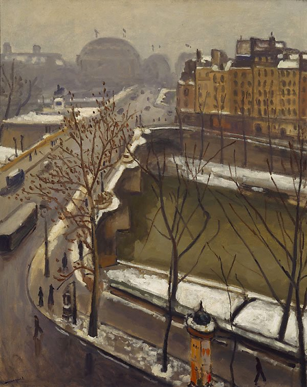 An image of The Pont Neuf in the snow