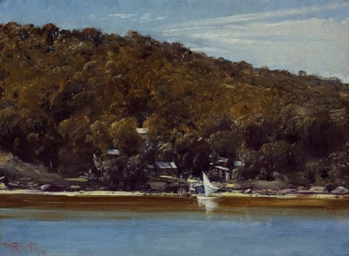 An image of The camp, Sirius Cove by Tom Roberts