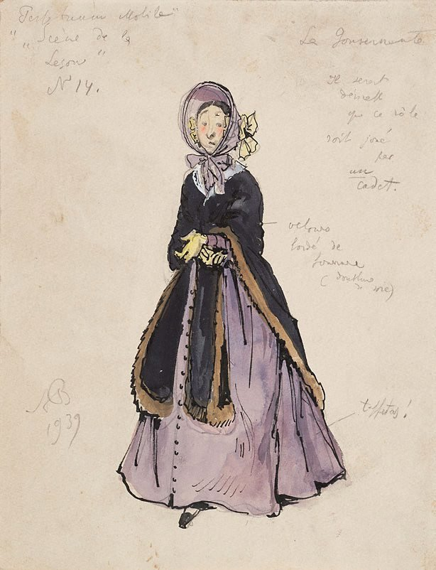 An image of Costume study for Graduation Ball