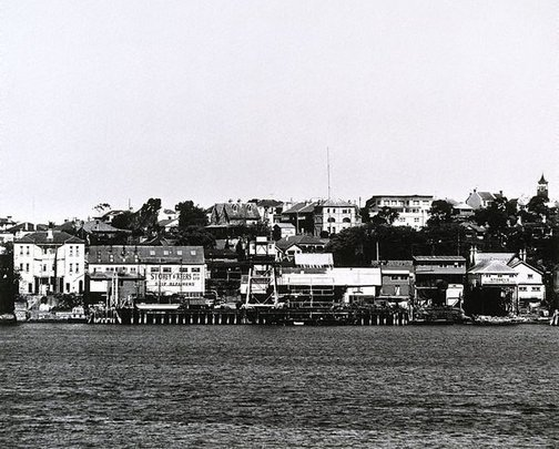 An image of Parramatta River: Birchgrove I 1980 by Mark Johnson