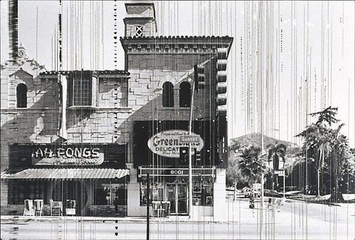 An image of Sunset Strip by Edward Ruscha