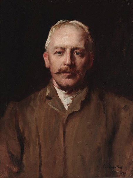 An image of Julian Ashton by John Longstaff