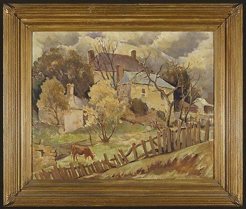 An image of Old farm, Berrima by John Eldershaw