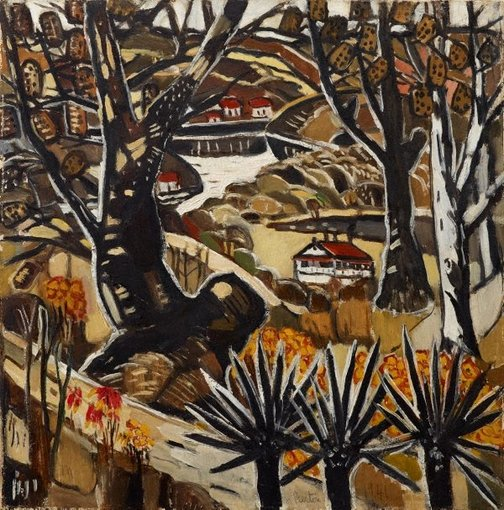 An image of I lived at Berowra by Margaret Preston