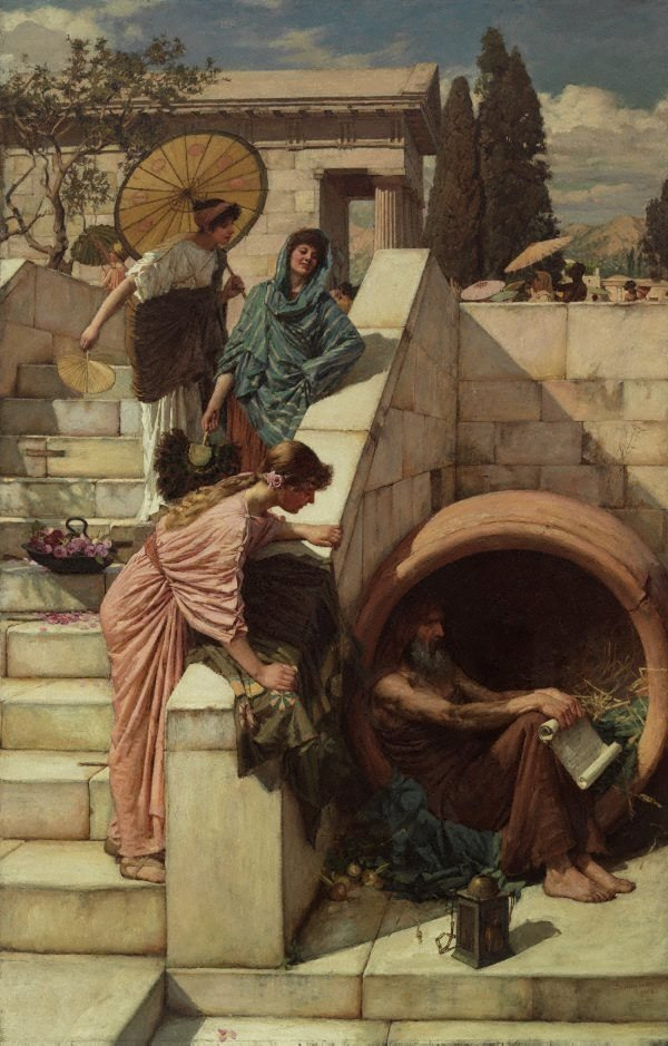 An image of Diogenes
