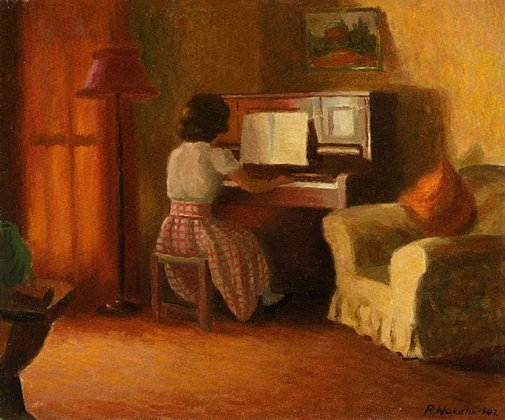 An image of Interior by Roland Wakelin