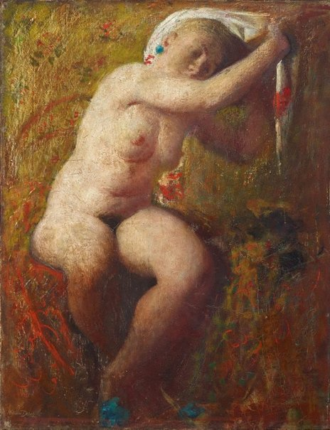 An image of Nude by William Dobell