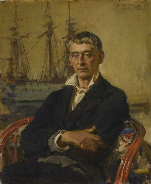 An image of Norman Lindsay by John Longstaff