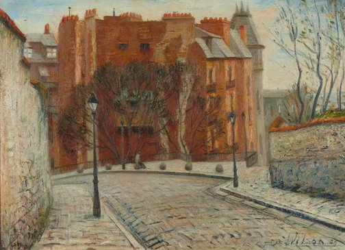 An image of Rue de la Bonne, Montmartre, Paris by Eric Wilson