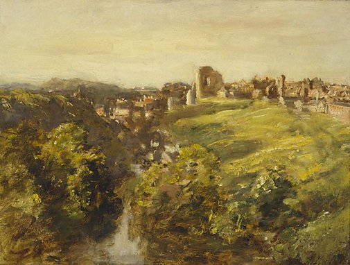 An image of Knaresborough by Phillip Wilson Steer