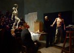 The anatomy class at the Ecole des Beaux Arts