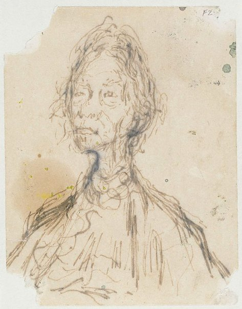 An image of Study for Dame Mary Gilmore by William Dobell