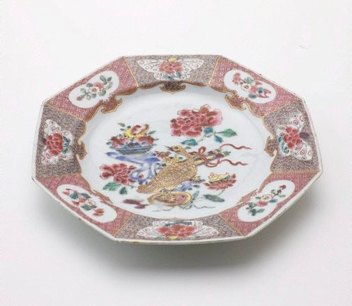 An image of Octagonal plate by