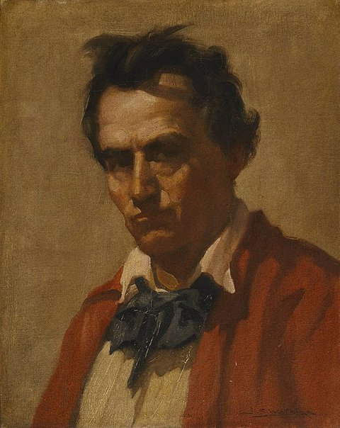 An image of Self portrait by J.S. Watkins