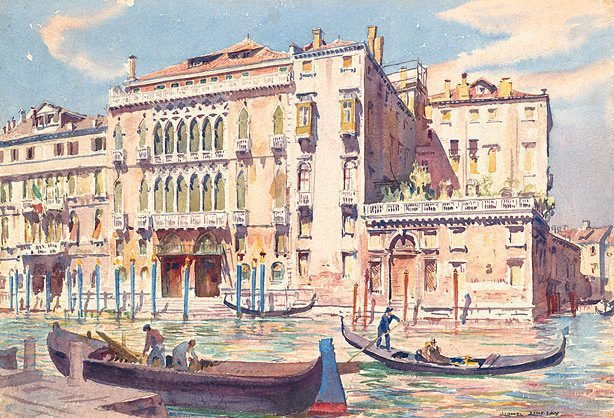 An image of Titian's Palace, Venice