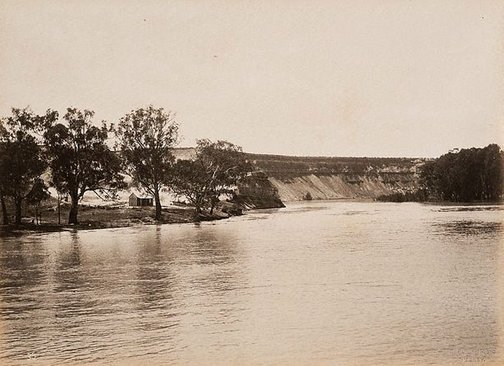 An image of Devil's Elbow, Lower Murray (first view) by Charles Bayliss