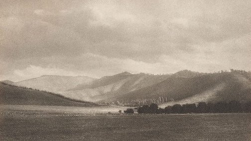 An image of Landscape Flinders country by Harold Cazneaux