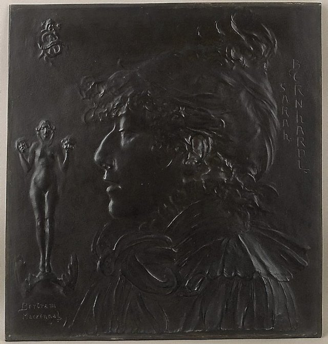 An image of Sarah Bernhardt