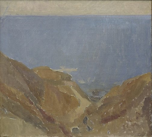 An image of Seascape by Horace Trenerry