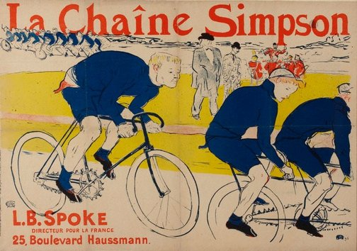 An image of La Chaîne Simpson by Henri de Toulouse-Lautrec