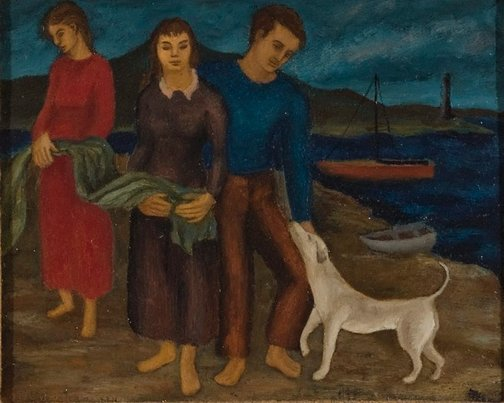 An image of Fisher family by David Strachan