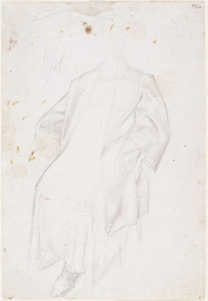 An image of Costume study for Dame Mary Gilmore by William Dobell