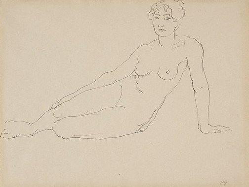 An image of Nude by Rupert Bunny