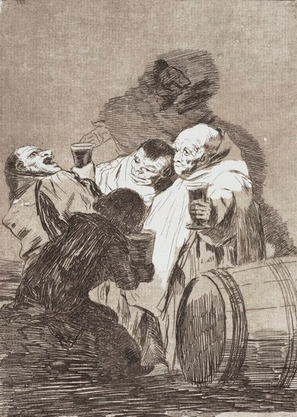 An image of Nobody has seen us by Francisco de Goya Y Lucientes