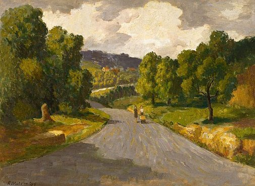 An image of River Road by Roland Wakelin