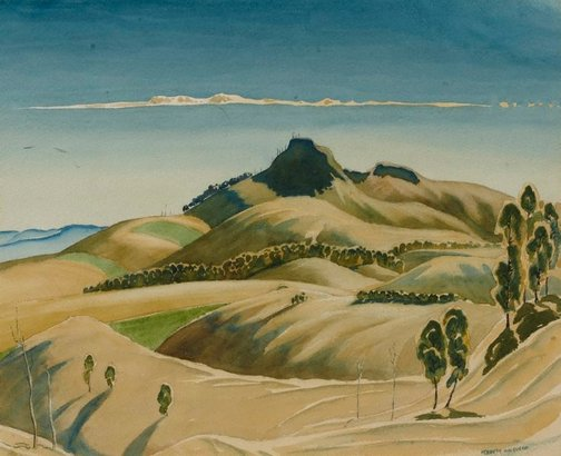 An image of Mt. Domville by Kenneth Macqueen