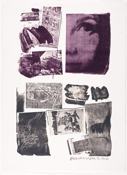 An image of Pledge by Robert Rauschenberg