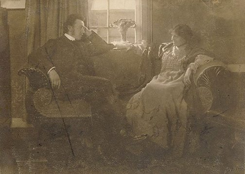 An image of In the twilight by Rudolph Dührkoop