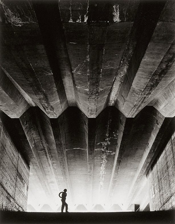 An image of Concrete support beams (Sydney Opera House)
