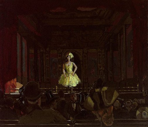 An image of Katie Lawrence at Gatti's by Walter Richard Sickert