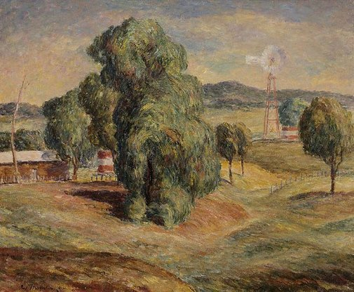 An image of Landscape Binnia Downs by Wallace Thornton
