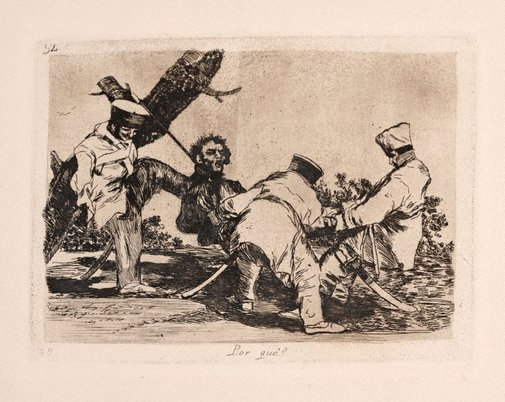 An image of Why? by Francisco de Goya Y Lucientes