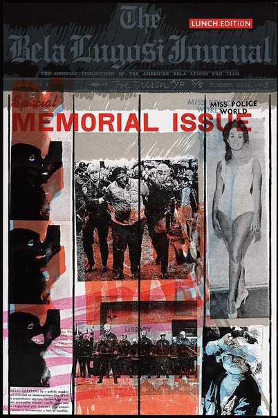 An image of M - Memorial issue by Joe Tilson
