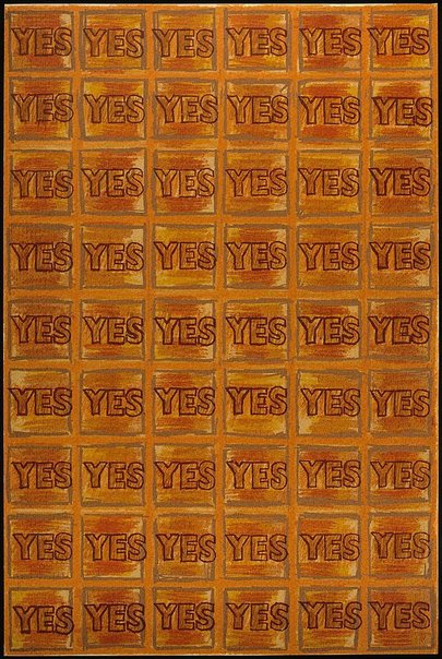 An image of Y - Yes by Joe Tilson