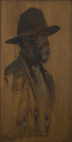 An image of Silent Bob Bates by Tom Roberts