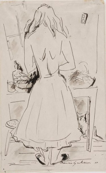 An image of In the kitchen by Francis Lymburner