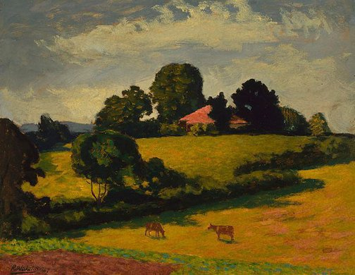 An image of Pastoral by Roland Wakelin