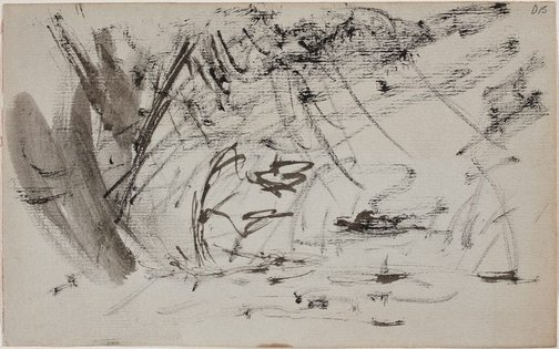 An image of (Landscape) (Sketches from Wangi and Lake Macquarie) by William Dobell